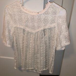 AEO lace shirt